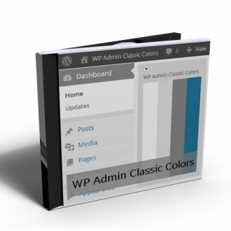 WP Admin Classic Colors product
