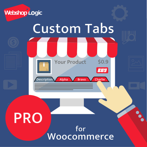 Show more product description for your customer with WooCommerce Custom Tabs Pro plugin.